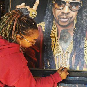 Atlanta artist dizzy