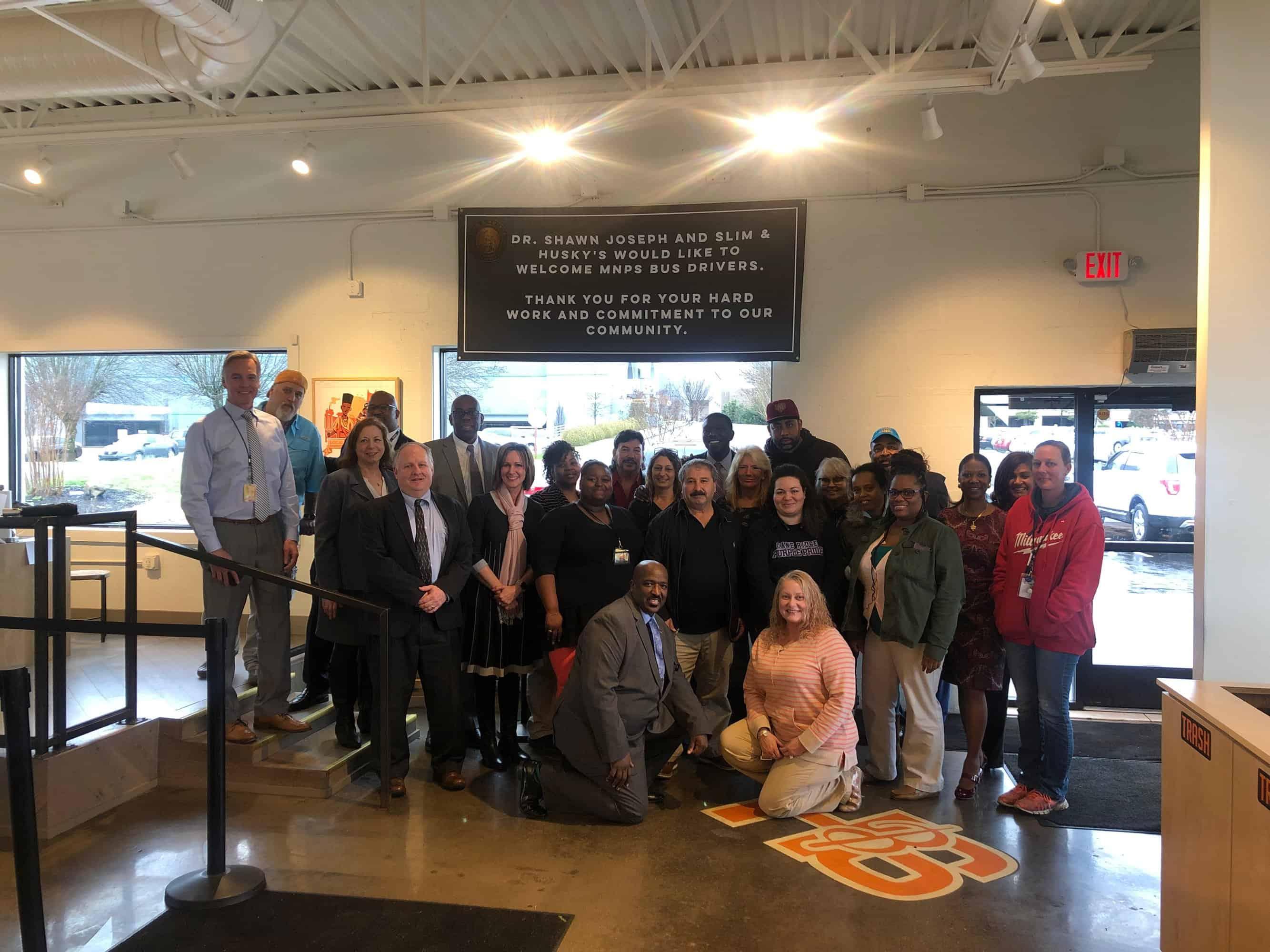 metro nashville public schools bus driver appreciation event